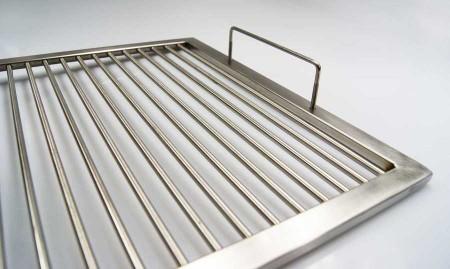 grillrost aus edelstahl nach ma 2 abnehmbare b gelgriffe umfang 181 200 cm aktiona shop. Black Bedroom Furniture Sets. Home Design Ideas