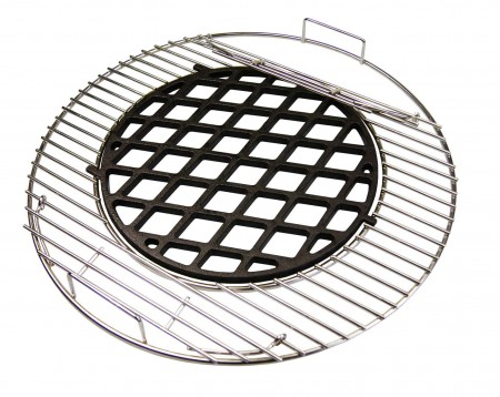 44 5 cm edelstahl grillrost rund f r kugelgrill 44 45 46 47 weber kohlerost ru aktiona shop. Black Bedroom Furniture Sets. Home Design Ideas