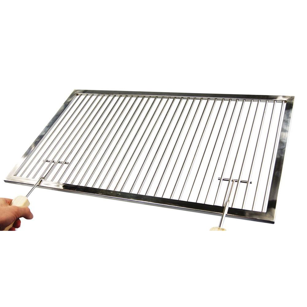 premium grillrost edelstahl 61 x 42 cm aktiona shop. Black Bedroom Furniture Sets. Home Design Ideas