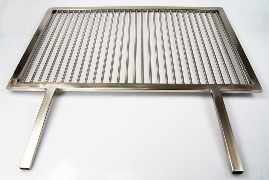 grillrost aus edelstahl nach ma angeschwei te handgriffe umfang 261 280 cm aktiona shop. Black Bedroom Furniture Sets. Home Design Ideas