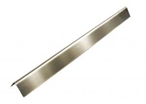 1 x Edelstahl Flammenblech 57,0 x 5,3 x 7,3 cm für Universal Gasgrill